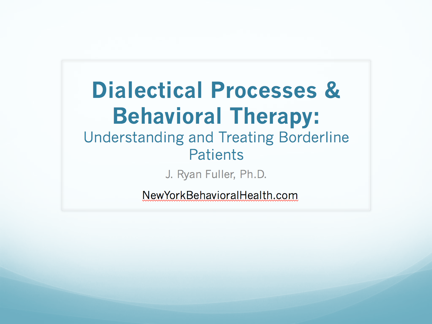 a therapeutic approach to borderline personality disorder Borderline personality disorder treatments can include medications, psychotherapy, and hospitalization psychotherapy is usually the preferred mode of treatment.