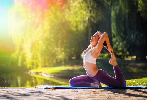 Yoga pose for New Yorkers struggling with anxiety